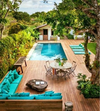 kertépítés, kerti medencék